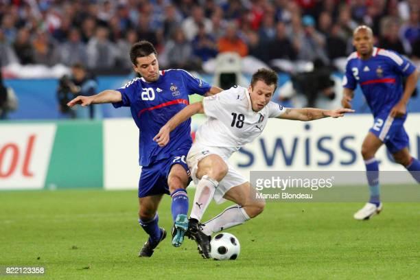 Jeremy TOULALAN / antonio CASSANO France / Italie Euro 2008 Zurich