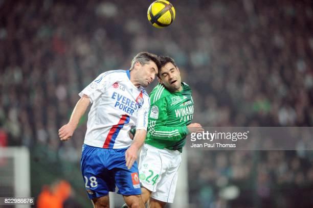 Jeremy TOULALAN / Loic PERRIN û Saint Etienne / Lyon 23 eme journee de Ligue 1 ûSaint Etienneû