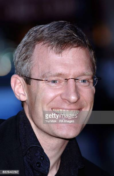 Jeremy Vine arrives for the VIP press launch of The Snowman at the Peacock Theatre in central London