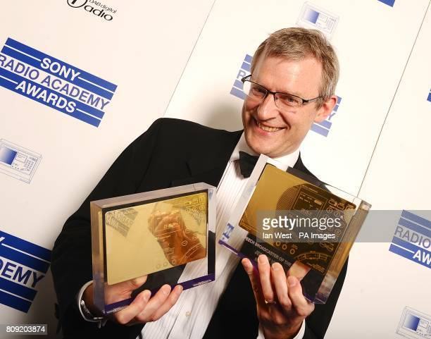 Jeremy Vine at the Sony Radio Academy Awards 2011 at the Grosvenor House Hotel London