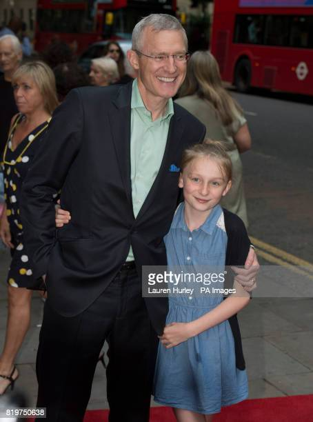 Jeremy Vine attending the opening night of Sadleracircs Wells summer tango spectacular Tanguera in London