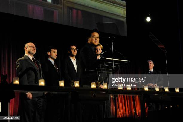 Jeremy Weinberger Perry Ziff Jason Reisman Jeff Han Phil Davidson and John King attend NATIONAL DESIGN AWARDS Gala at Cipriani 42 St on October 22...