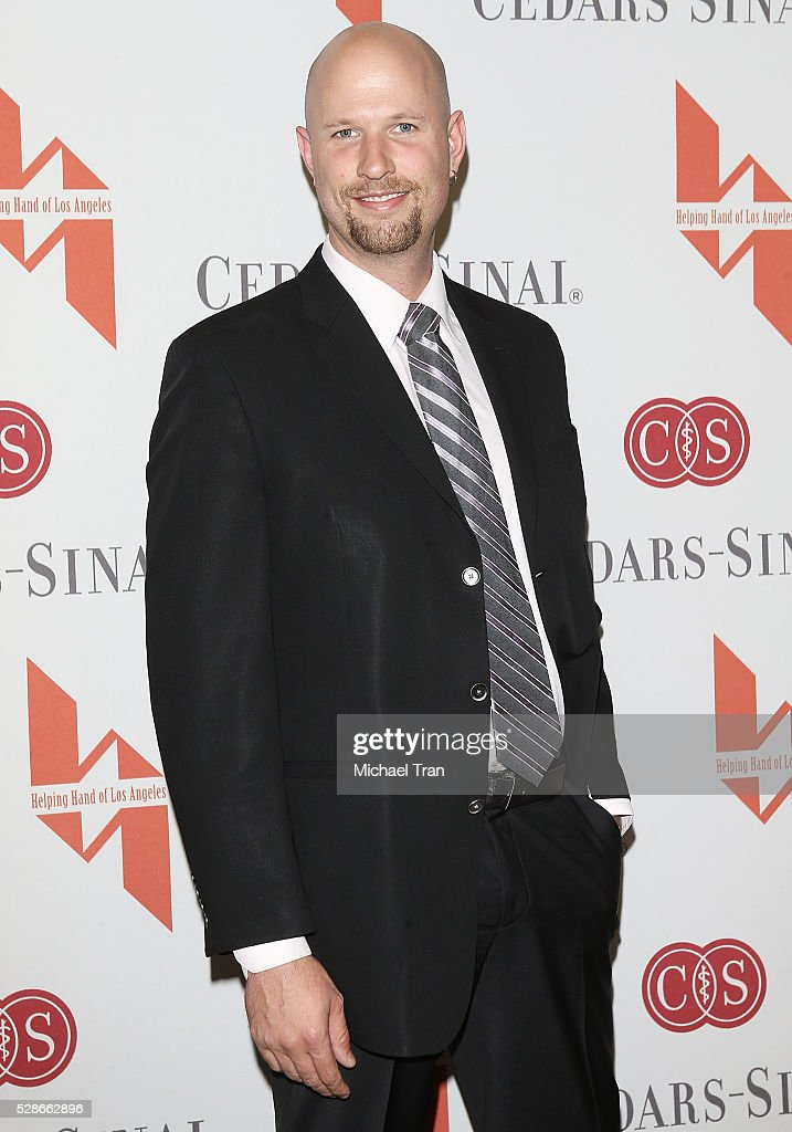 Jeremy Weinglass arrives at The Helping Hand of Los Angeles' 87th Anniversary Mother's Day luncheon held at the Beverly Wilshire Four Seasons Hotel on May 6, 2016 in Beverly Hills, California.