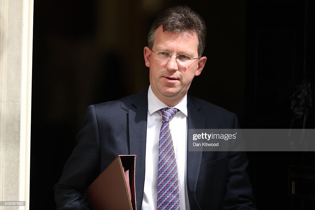 Jeremy Wright QC, Attorney General leaves Downing Street following a cabinet meeting on June 27, 2016 in London, England. British Prime Minister David Cameron chaired an emergency Cabinet meeting this morning, after Britain voted to leave the European Union. Chancellor George Osborne spoke at a press conference ahead of the start of financial trading and outlining how the Government will 'protect the national interest' after the UK voted to leave the EU.