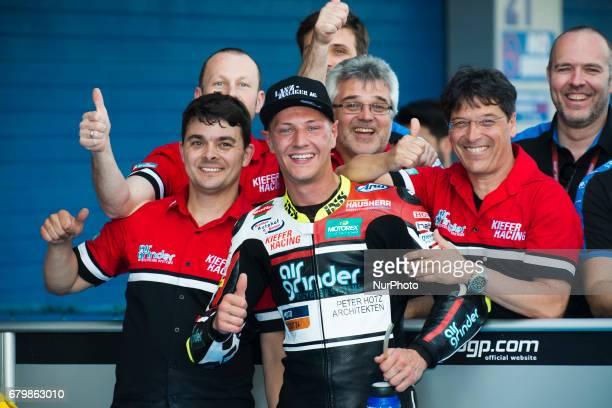 Jerez de la frontera SPAIN 6th of May 2017 Gran Premio Red Bull of Spain Qualifying Dominique AEGERTER Kiefer Racing Suter