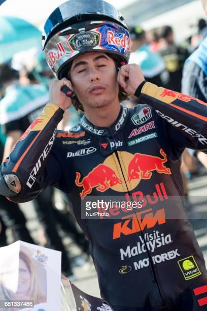 Jerez de la frontera SPAIN 7th of May 2017 Gran Premio Red Bull of Spain Niccolo Antonelli Red Bull Ktm Ajo Ktm
