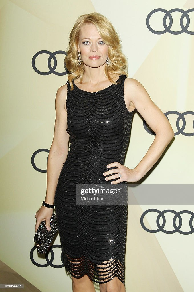 Jeri Ryan arrives at the Audi Golden Globe 2013 kick off cocktail party held at Cecconi's Restaurant on January 6, 2013 in Los Angeles, California.
