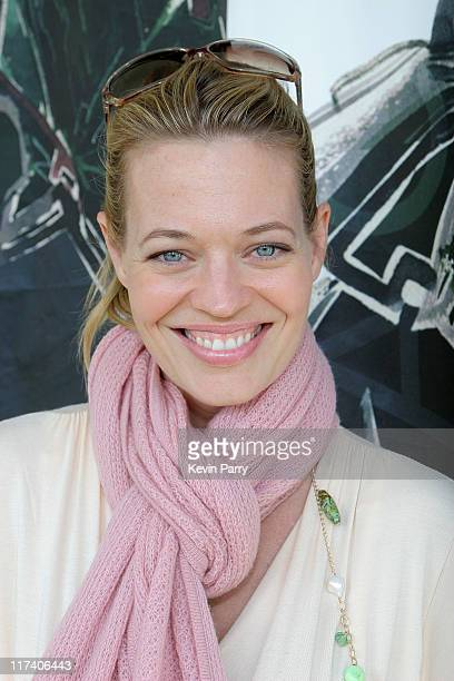 Jeri Ryan at Magaschoni during The Silver Spoon Hollywood Buffet PreEmmys Day 1 at Private Residence in Los Angeles California United States Photo by...