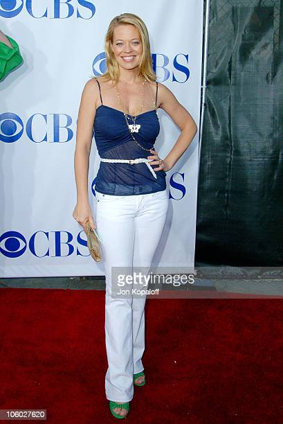 Jeri Ryan during CBS 2006 TCA Summer Press Tour Party at Rosebowl in Pasadena California United States