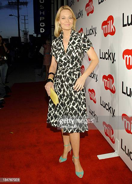 Jeri Ryan during Lucky Magazine Hosts Party to Celebrate LA Shopping Guide at Milk Boutique at Milk Boutique in Los Angeles California United States