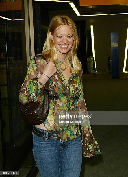 Jeri Ryan during Smirnoff Ice Endeavor Talent Agency PreParty For The MTV Movie AwardsInside The Astra West In West Hollywood at Astra West in West...
