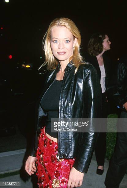 Jeri Ryan during 'Star Trek Voyager' Series Finale Party at The W Hotel in Westwood California United States