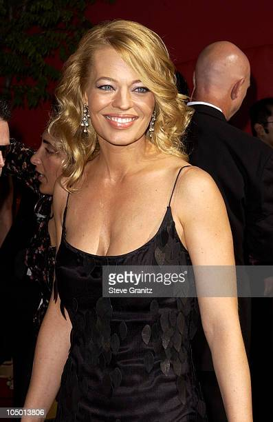 Jeri Ryan during The 54th Annual Primetime Emmy Awards Arrivals at The Shrine Auditorium in Los Angeles California United States