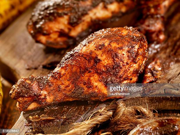 Jerk Chicken with Corn