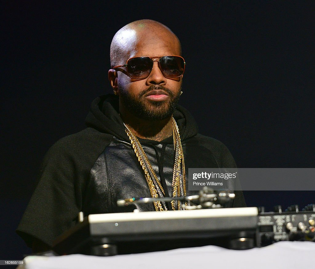 Jermain Dupri performs at the So So Def 20th anniversary concert at the Fox Theater on February 23, 2013 in Atlanta, Georgia.