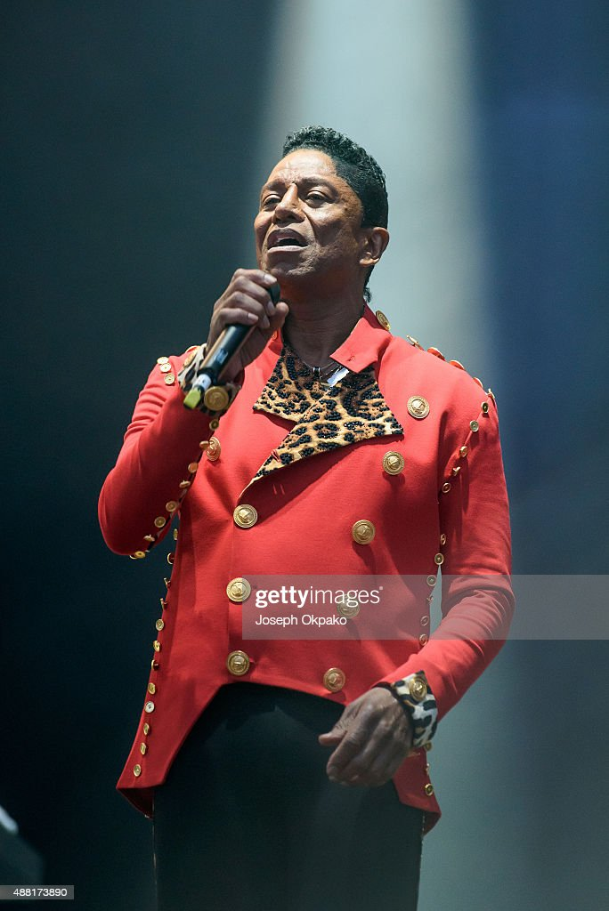 Jermain Jackson of The Jacksons performs on day 4 of Bestival at Robin Hill Country Park on September 13 2015 in Newport Isle of Wight
