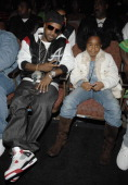 Jermaine Dupri and daughter Shaniah during 2006 BET HipHop Awards Audience and Backstage at Fox Theatre in Atlanta Georgia United States