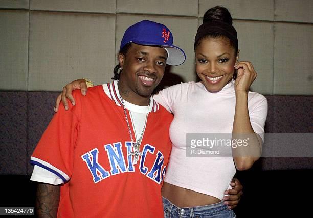 Jermaine Dupri and Janet Jackson 2001 during Janet Jackson and Jermaine Dupree File Photos in Atlanta Georgia United States