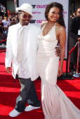 Jermaine Dupri and Janet Jackson during 4th Annual BET Awards Arrivals at Kodak Theatre in Hollywood California United States