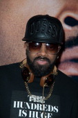 Jermaine Dupri attend the 'Ride Along' screening at AMC Loews Lincoln Square on January 15 2014 in New York City