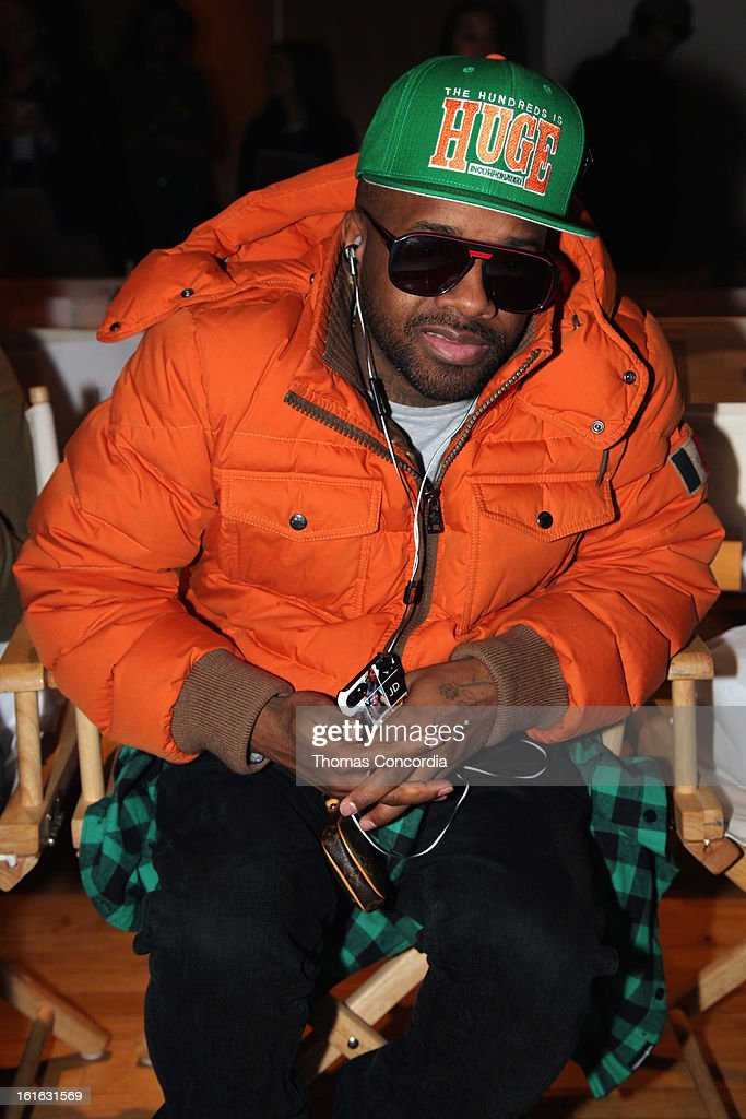 Jermaine Dupri attends Boy Meets Girl by Stacy Igel the 'Invasion Collections' Fashion Show at STYLE360 presented by Conair Fashion Pavilion on February 13, 2013 in New York City.