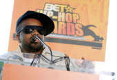 Jermaine Dupri during 2006 BET HipHop Awards Nominees and Icon Awards Announcement at Metro Atlanta Chamber of Commerce in Atlanta Georgia United...