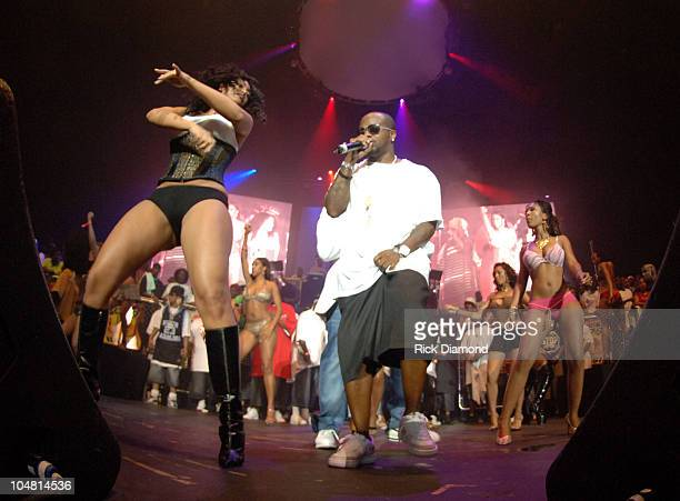 Jermaine Dupri during HOT 1079 Birthday Bash 10 at HiFi Buys Amphitheater in Atlanta Georgia United States