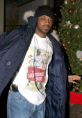 Jermaine Dupri of So So Def during JLo Clothing Holiday Party at PM Lounge in New York City New York United States