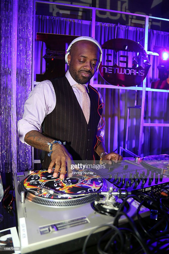 Jermaine Dupri spins at the 2013 BET Networks Inaugural Gala at Smithsonian National Museum Of American History on January 21, 2013 in Washington, United States.