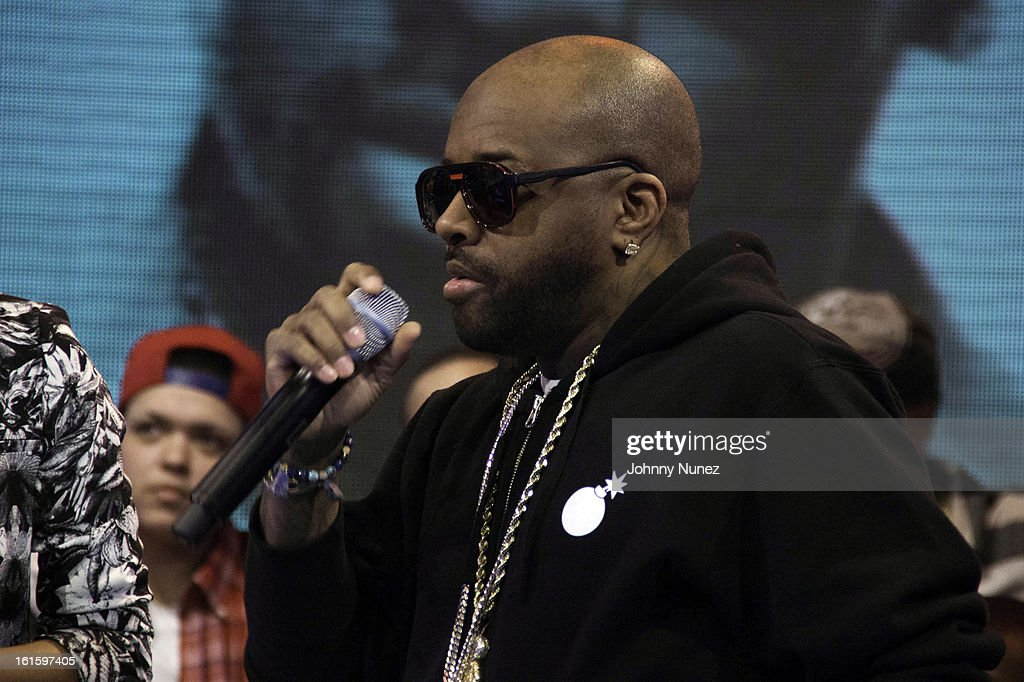 Jermaine Dupri visits BET's '106 & Park' at BET Studios on February 11, 2013 in New York City.
