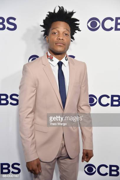 Jermaine Fowler attends the 2017 CBS Upfront on May 17 2017 in New York City