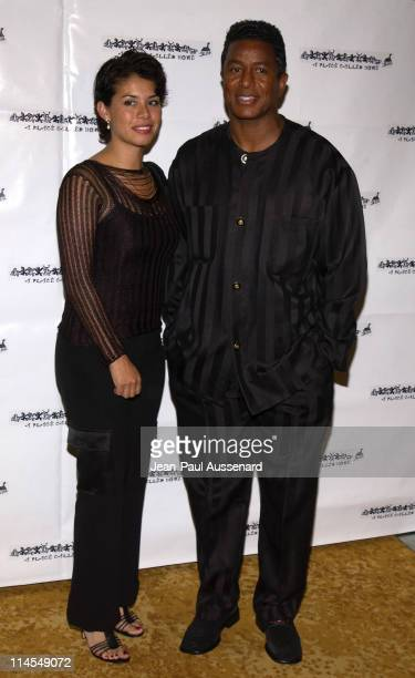 Jermaine Jackson and wife during A Place Called Home 10th Anniversary Gala at Regent Beverly Wilshire in Beverly Hills California United States