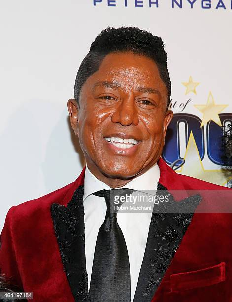 Jermaine Jackson attends the Norby Walters 25th Annual Night of 100 Stars Oscar Viewing Gala at The Beverly Hilton Hotel on February 22 2015 in...