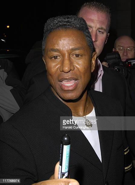 Jermaine Jackson during Celebrity Big Brother Wrap Party at Bloomsbury Ballroom in London Great Britain