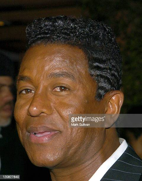 Jermaine Jackson during Janet Damita Jo Jackson Celebration PartyArrivals at Morton's in West Hollywood California United States