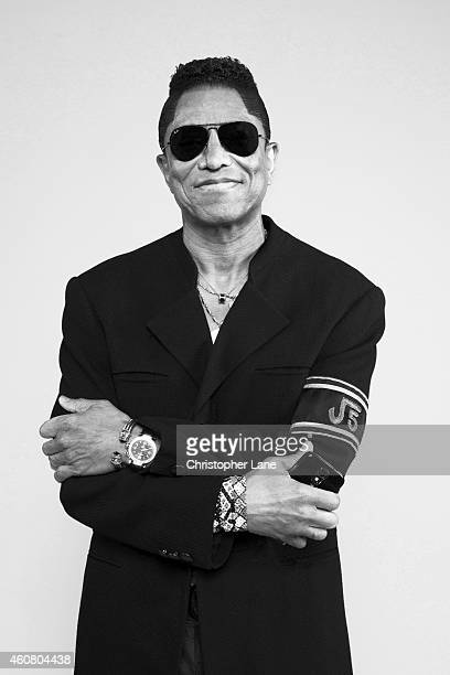 Jermaine Jackson is photographed for Paris Match on July 2 2014 in Atlantic City New Jersey
