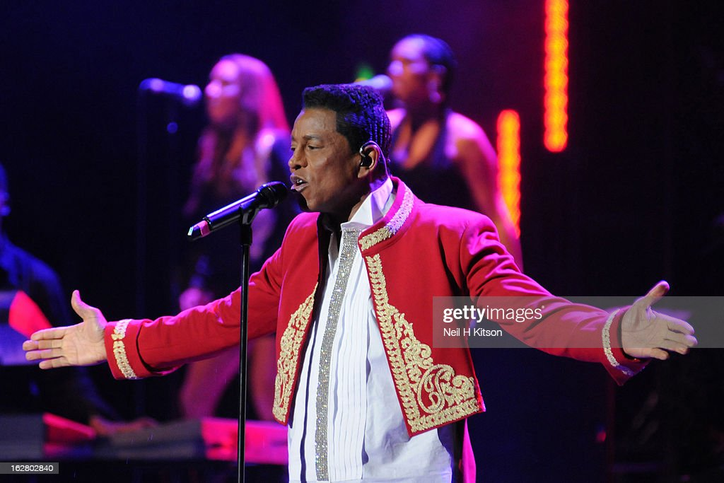 <a gi-track='captionPersonalityLinkClicked' href=/galleries/search?phrase=Jermaine+Jackson&family=editorial&specificpeople=204742 ng-click='$event.stopPropagation()'>Jermaine Jackson</a> of the Jacksons performs on stage in concert at Manchester Apollo on February 27, 2013 in Manchester, England.