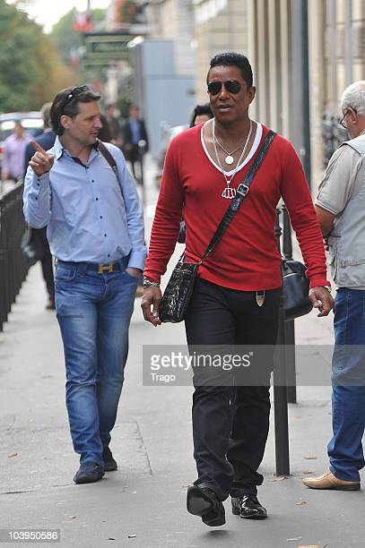 Jermaine Jackson sighting in Paris on September 9 2010 in Paris France