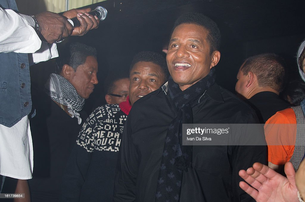 Jermaine Jackson, Tito Jackson and Jackie Jackson of The Jacksons perform at Cafe Opera on February 14, 2013 in Stockholm, Sweden.