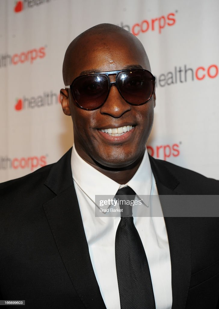 Jermaine Paul attends the 7th Annual Heath Corps Grassroots Garden Gala at Gotham Hall on April 17, 2013 in New York City.
