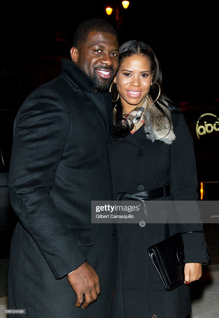 Jermaine Washington and Stephanie Morrison attend An Evening With 7, at 7, On the 7th at on January 7, 2013 in Philadelphia City.