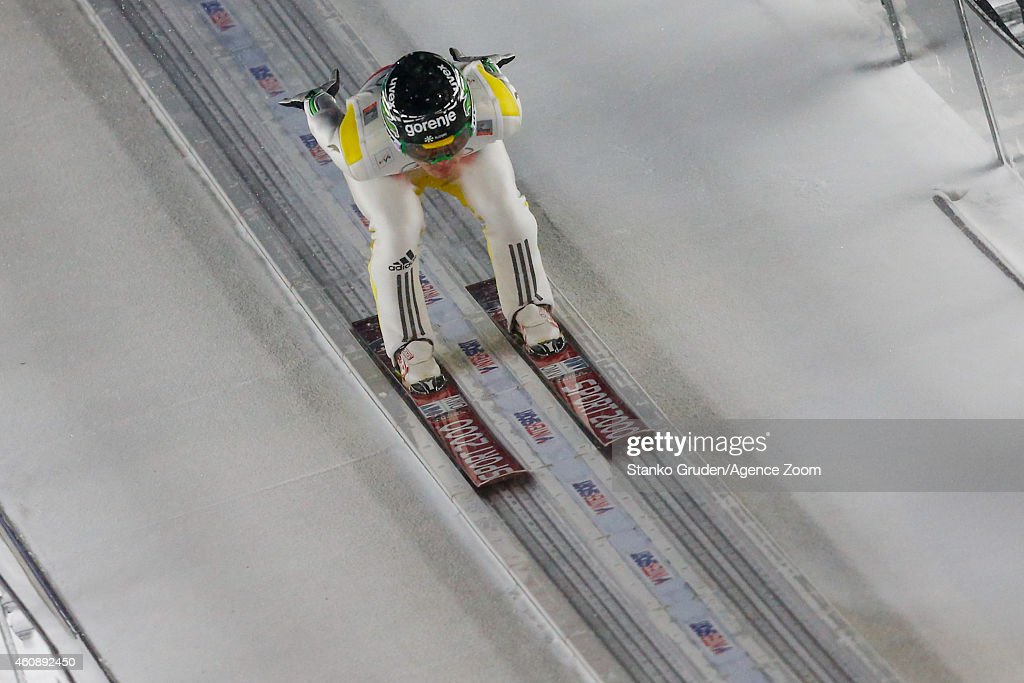 <a gi-track='captionPersonalityLinkClicked' href=/galleries/search?phrase=Jernej+Damjan&family=editorial&specificpeople=820554 ng-click='$event.stopPropagation()'>Jernej Damjan</a> of Slovenia during the FIS Ski Jumping World Cup Vierschanzentournee (Four Hills Tournament) on December 29, 2014 in Oberstdorf, Germany.