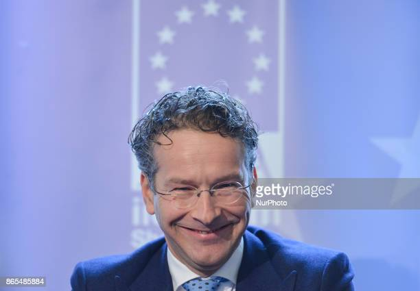 Jeroen Dijsselbloem President of the Eurogroup speaks about 'The Future of Eurozone Governance' at The Institute of International and European...
