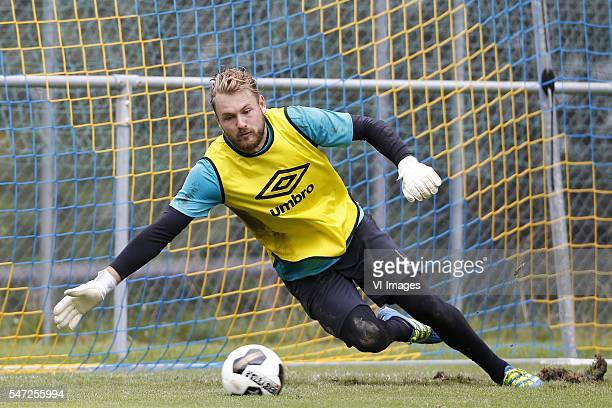 Jeroen Zoet of PSV during the preseason training camp of PSV Eindhoven on July 14 2016 at verbier Switzerland