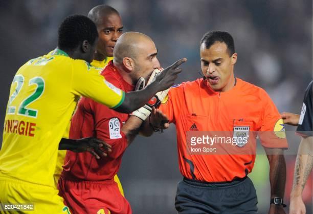 Jerome ALONZO / Said ENNJIMI PSG / Nantes 5 eme journee de Ligue 1