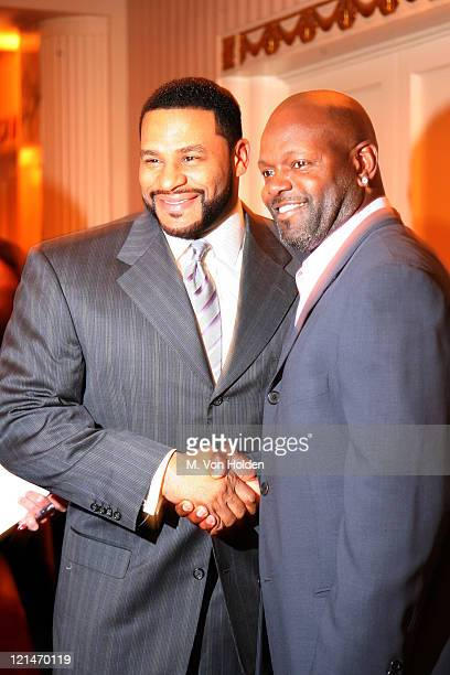 Jerome Bettis and Emmitt Smith during NFL and The Gillen Brewer Company held the 'Kick off for a Cure' Benefit for Autism Speaks at Waldorf Astoria...