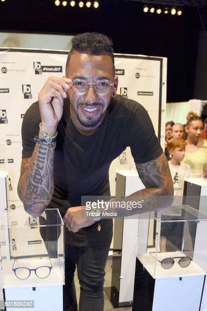 Jerome Boateng during the TeamJB17 Jerome Boateng Edel Optics glasses KickOffEvent on August 15 2017 in Hamburg Germany