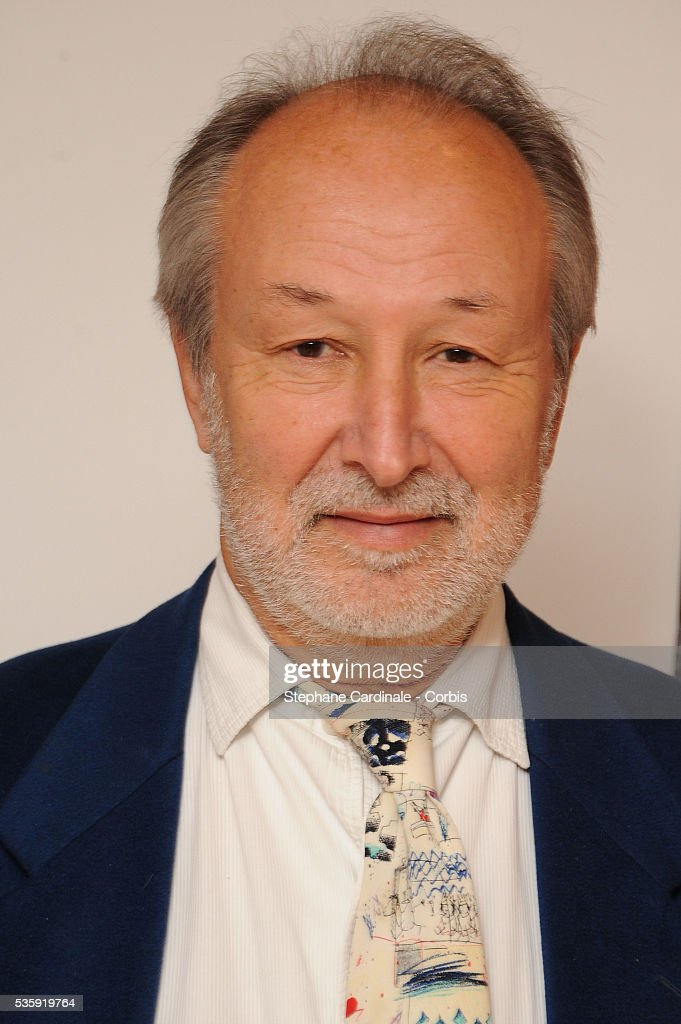Jerome Clement attends the 'Toscan' documentary premiere at Cinema l'Arlequin in Paris.