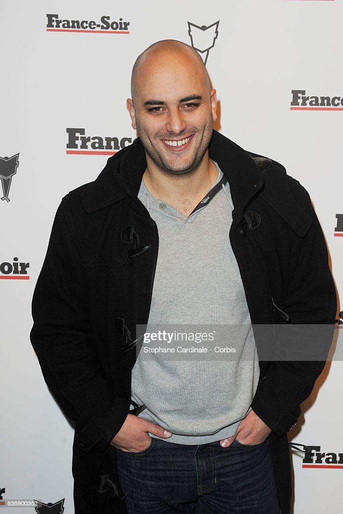 Jerome Commandeur attends France Soir Launch Party in Paris.