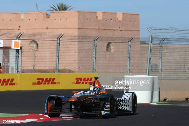 Jerome d'Ambrosio of Belgium during the FormulaE Championship 2016 on November 12 2016 in Marrakesh Morocco